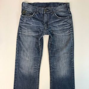 Silver Jeans Men Zac Bootcut Jeans Sz 36/34